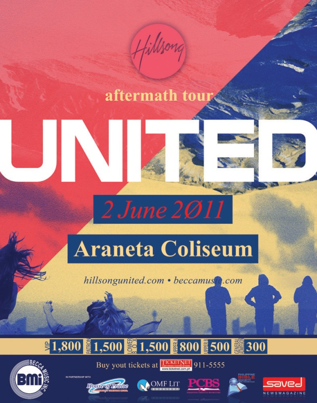 Hillsong United Live In Manila 2011