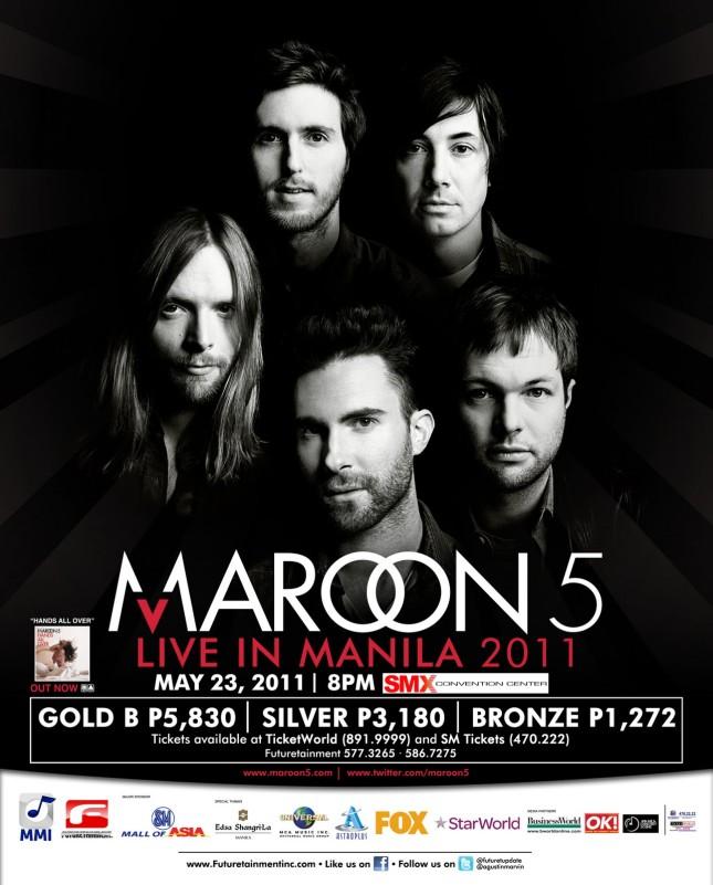 Maroon 5 Live In Manila 2011