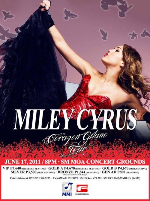 Miley Cyrus Live In Manila 2011